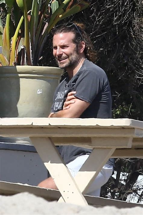 Bradley Cooper Hangs Out With Leonardo Dicaprio At His