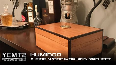 spanish cedar humidor  fine woodworking project