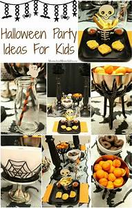 Halloween, Party, Ideas, For, Kids