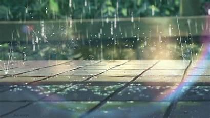 Giphy Raindrops Rainfall Gifs Rainy