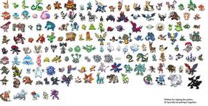 pokemon black 2 pokemon list