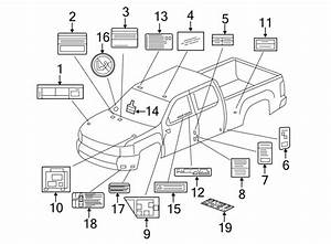 Chevrolet Silverado 3500 Hd A  C System Information Label