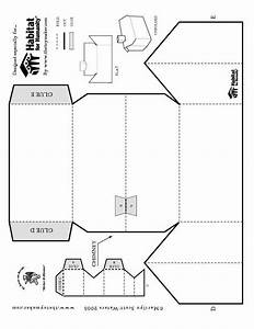 foldable printable paper house scouts pinterest With paper house templates to print