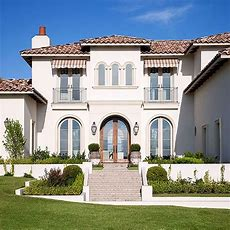 Mediterraneanstyle Home Ideas  More Clay Roof Tiles And
