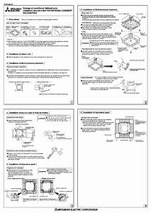 Mitsubishi Pac Sh53tm E Air Conditioner Installation Manual
