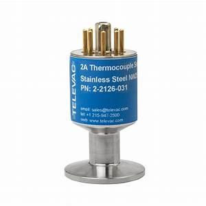 Televac 2a Thermocouple Vacuum Gauge  Pirani