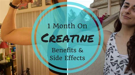 month  creatine benefits side effects gainz