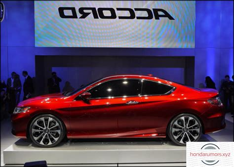 2019 Honda Accord Coupe Sport Redesign And Changes 2018