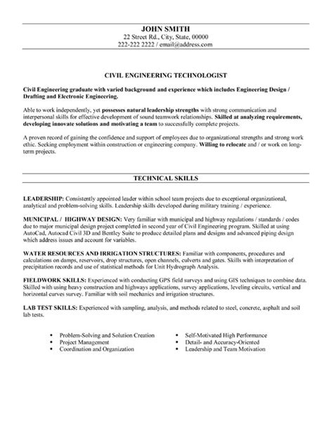 28 resume sle for mechanical engineer automotive 28 sle resume for civil engineer enernovva org