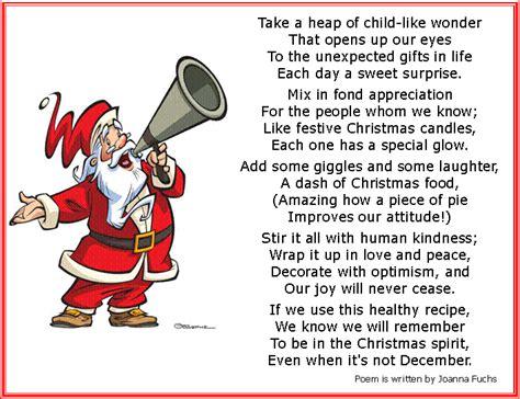 funny christmas poems happy holidays