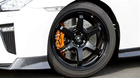 nissan oem wheels  nismo edition gtr epi motoring