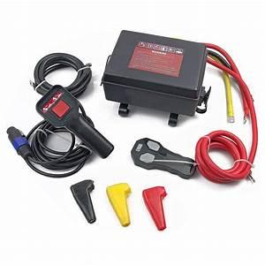 12v 12000lbs Winch Control Box Solenoid Wireless Remote