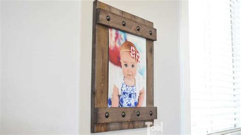 diy easy farmhouse style frame  tool belt