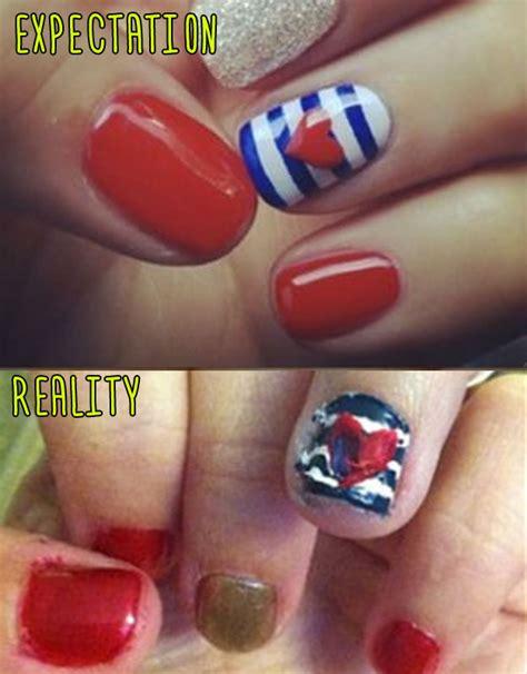 pinterest nail artists  aimed  high  failed  hard