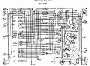 1968 Chevrolet Chevy Ii Nova Wiring Diagrams