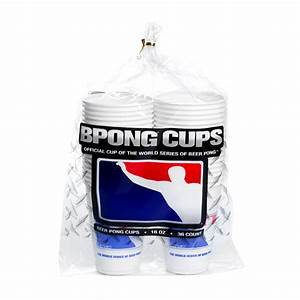 Beer Pong Cups by BPONG and The WSOBP - CUPA01-50PK | BPONG