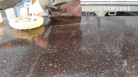 corian finish how to solid surface countertop finishing and polishing