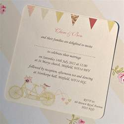 invitation for wedding made for two wedding invitation cards by beautiful day notonthehighstreet