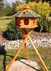 Vogelhaus Mit Ständer : sch nes gro es vogelhaus mit st nder ~ Whattoseeinmadrid.com Haus und Dekorationen