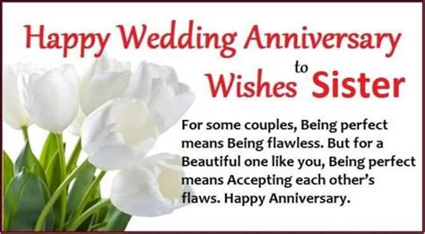 anniversary wishes  sister wishes