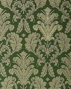 Tapeten Retro Style : papier peint n o baroque edem 752 38 vert pr cieux avec ~ Sanjose-hotels-ca.com Haus und Dekorationen