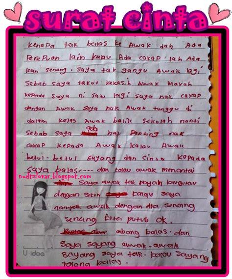 Contoh Surat Cinta Lucu by Contoh Drama Yang Lucu Contoh 36