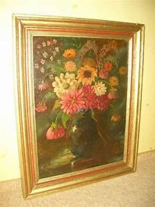 ölgemälde Blumen In Vase : lgem lde stillleben vase mit blumen picture ~ Orissabook.com Haus und Dekorationen