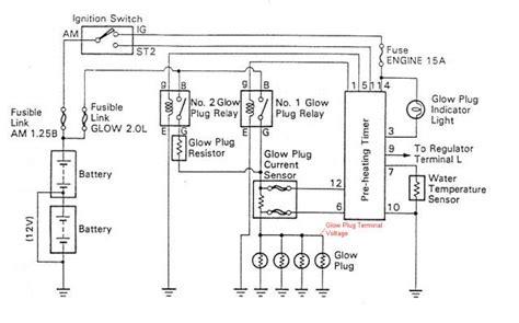 bosch glow plug relay wiring diagram wiring diagram virtual fretboard