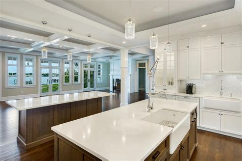 Coastal Dream Kitchen Brick New Jersey By Design Line Kitchens