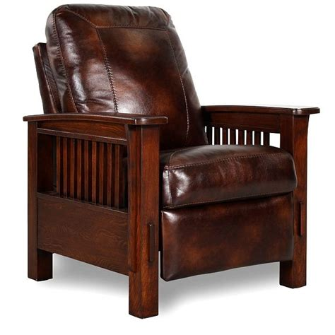mission style leather chair nicolas mission style