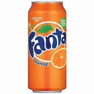 Fanta Caffeine-free Orange Soda  16 Fl  Oz