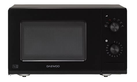 Daewoo Manual Microwave Oven, 20 Litre, White