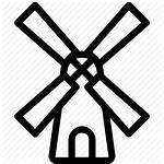 Mill Icon Transparent Amsterdam Clipart Netherlands Windmill