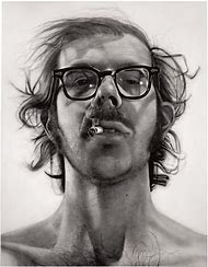 Chuck Close Big Self Portrait