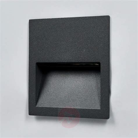square led recessed wall light loya for outdoors lights