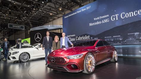 Mercedes Amg Gt Concept Packs Four Doors And 800