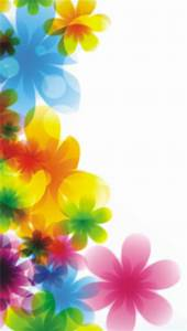 Colorful Flowers iPhone 5 Wallpaper (640x1136)