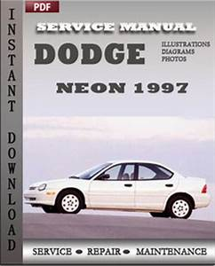 2002 Dodge neon Repair manual
