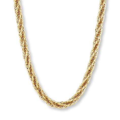 Gold Necklace Mens