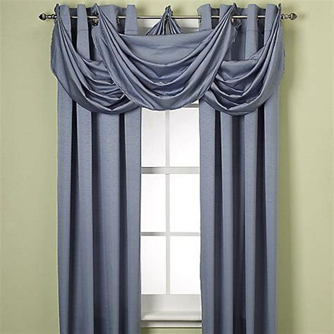 Waterfall Valance Curtain Set by Odyssey Insulating Waterfall Valance Master Bedroom