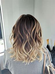 Medium Length Hair with Blonde Highlights