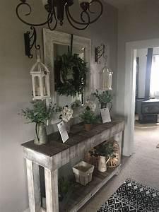 Farmhouse, Entryway, Table, Homeredecorating