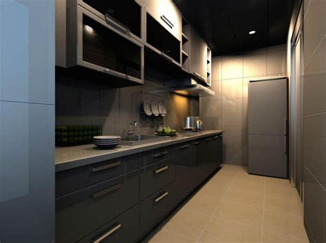 one sided galley kitchen 22 luxury galley kitchen design ideas pictures 3685