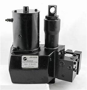 This Is A New Oem Fisher Solenoid Electric Hydraulic Unit