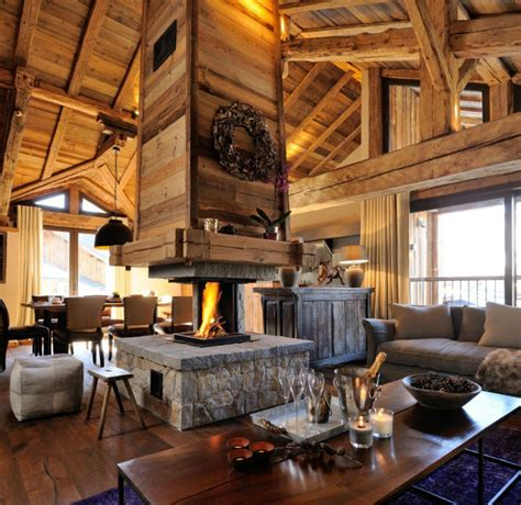 130 Year Savoie Stable Turned Luxurious Mountain Retreat by 130 Year Savoie Stable Turned Into A Luxurious