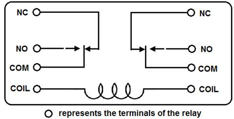 8 Pin Relay Configuration Diagram by Relay 12v 8 Pin R32 Projectshopbd