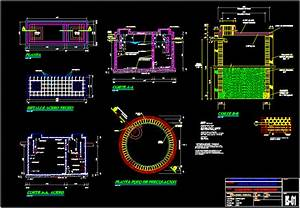 Septic Tank In Autocad