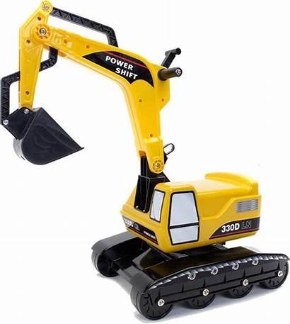 Shift Power Graafmachine Falk Excavator Geel Speelgoed