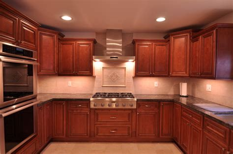 kitchen ideas with cherry cabinets kitchen ideas cherry cabinet which invites everybody