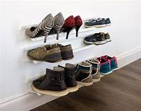 creative shoe storage LET'S STAY: Creative Shoe Storage Ideas